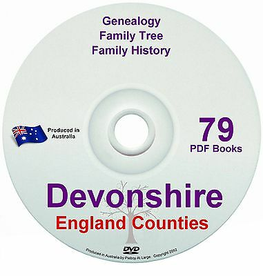 Family History Tree Genealogy Devonshire