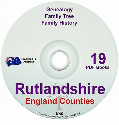 Family History Tree Genealogy Rutlandshire England