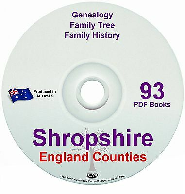 Family History Tree Genealogy Shropshire