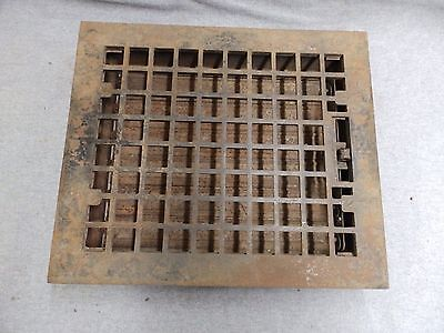 Vintage Cast Iron Heat Grate Grill Cast Iron Antique Arts Crafts 4116