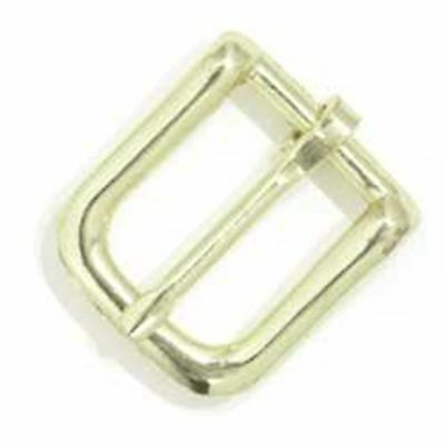 "Bridle Buckle #12 Brass Plated 3/4"" 1602-01 by Tandy Leather"