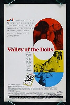 Valley Of The Dolls * Original Movie Poster Window Card