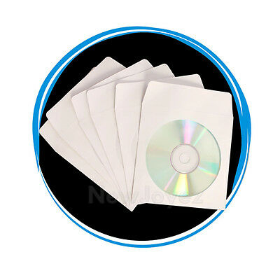 2000 Wholesale CD DVD Paper Sleeve Envelope Window Flap