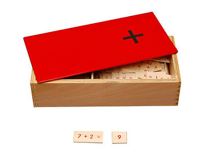 New Montessori Addition Equations And Sums Box