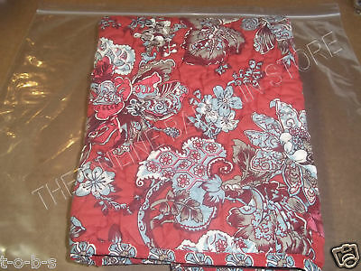 Pottery Barn Kids Sasha Embroidered Flowers Dragonfly Bed Pillow Sham Standard