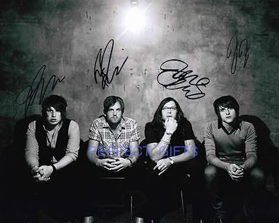 Kings Of Leon X4 Signed 10X8 Pp Photo