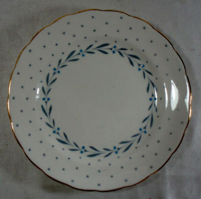 Royal Chelsea Heraldic Scalloped Bread and Butter Plate