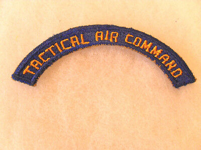 Wwii Aaf Tactical Air Command Tab  Cotton Ce