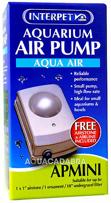 Interpet Ap Mini Aquarium Fish Tank Air Pump Tropical