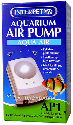 Interpet Ap1 Aquarium Fish Tank Air Pump Tropical Cold