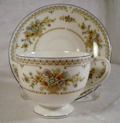 Wedgwood Petersham R4536 Cup and Saucer