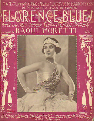 Partition Musicale : Florence Blues 1923