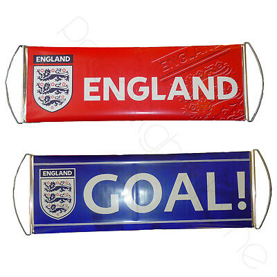ENGLAND FA 'GOAL' FAN BANNER x 40 NEW OFFICIAL