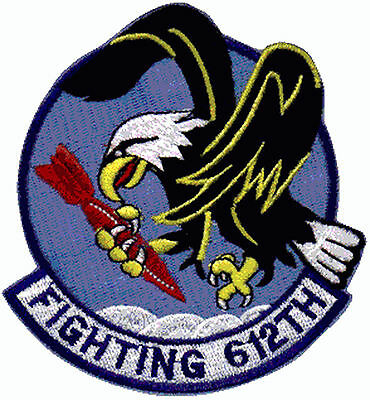 Ecusson Patch Aviation Fighting 612 armée air US army