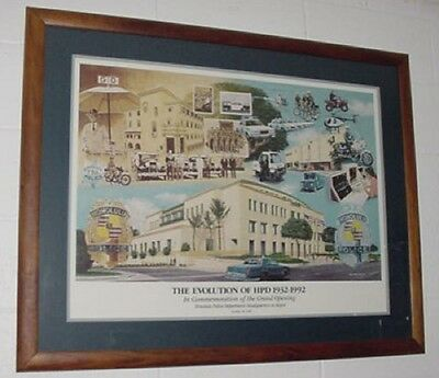 """HONOLULU HAWAII NEW GIANT LARGE ART PRINT POSTER PICTURE WALL 33.1/""""x23.4/"""""""