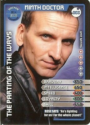 Dr Who Monster Invasion - 003 Ninth Doctor