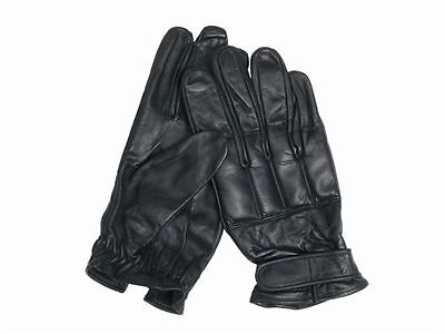 "Handschuhe ""Defender"",Leder,Quarzsand,Security    -NEU-"