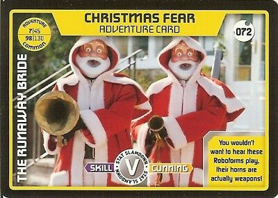 Dr Who Monster Invasion - 072 Christmas Fear