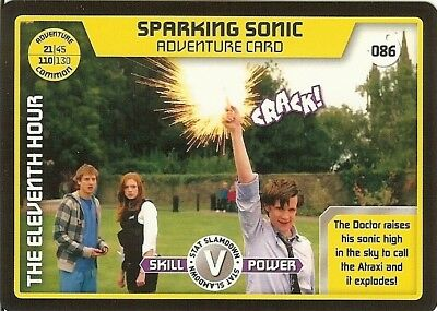 Dr Who Monster Invasion - 086 Sparking Sonic