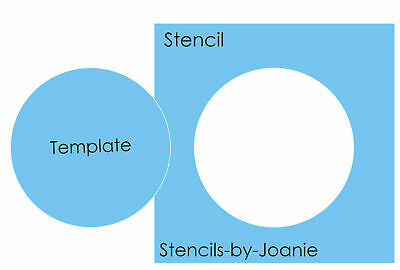 Circle Stencil Mylar Template Craft Quilt Wall Art Round Shape Polka