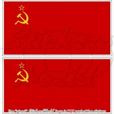 decal liberal right wing funny 3x5 inch Red COMMUNIST California Flag Sticker