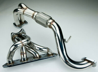 Stainless Steel Exhaust Manifold For Mg Tf 1.6/1.8 115/120/135 Hp 16V 2002+