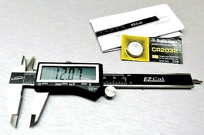 """4"""" Digital Electronic Caliper Fractional 3 Way LCD Stainless EZ Cal By iGaging"""