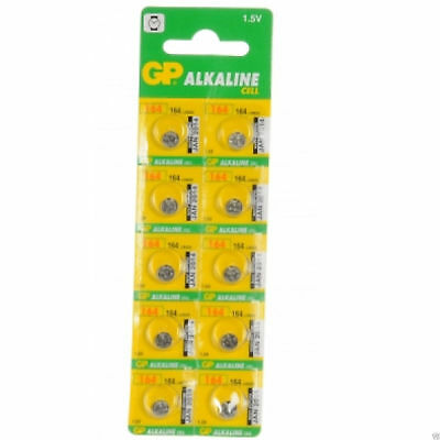 10 x GP Alkaline Cell Battery 164 LR620 1.5V