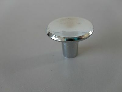 NOS SMALL CHROME KNOBS for DRAWER PULLS or CABINET HANDLES