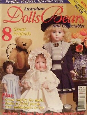 Australian Dolls Bears & Collectables Magazine - Vol 11 No 3
