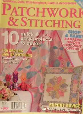 Patchwork & Stitching Vol 9 No 7 - SAVE 25% Bulk Magazine Discount