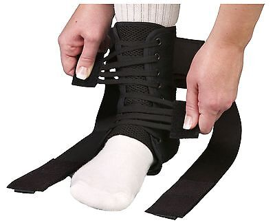 ASO Speed Lacer Ankle Brace Stabilizer Support Guard Brand New