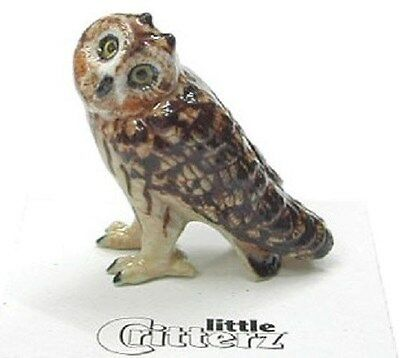 little Critterz LC566 - Short-Eared Owl (Buy 5 get 6th free!)
