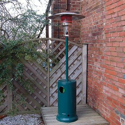 Fire Mountain Floor Standing Classic Green Gas Patio Heater with Free Regulator