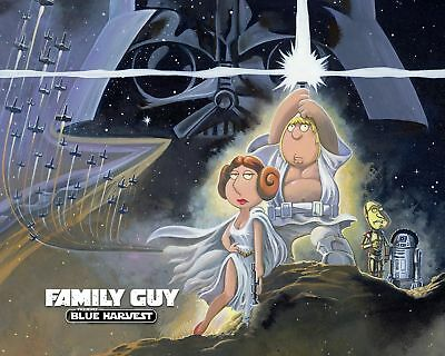 Movie Poster Print - Family Guy Star Wars *Buy One Get One Free*  (A3 / A4)