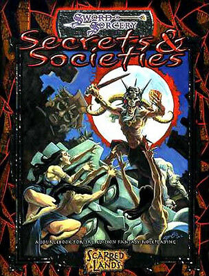 SECRETS & SOCIETIES NM! Sword & Sorcery Scarred Lands Dungeons & Dragons D&D