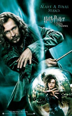 New Movie Poster: Harry Potter: Sirius Black *BUY 1 GET 1 FREE*  (A3 / A4)