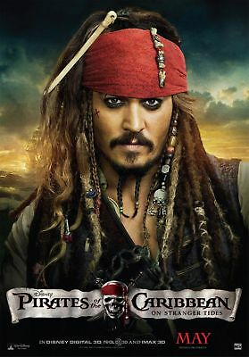 Movie Poster:Pirates of Caribbean: Jack Sparrow *BUY ONE GET ONE FREE*  (A3/A4)
