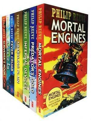 Mortal Engines Collection Philip Reeve 7 Books Boxed Set Pack New Children