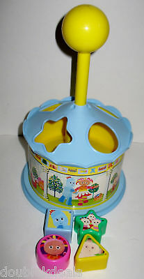 In The Night Garden Shape Sorter Toy Iggle Piggle Daisy