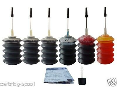 Refill ink kit for canon PG-30 CL-31 MP210 MP470 6x30ML