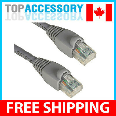 25 Feet Cat 6 RJ45 LAN Network Ethernet Patch Cable