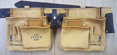 Tyzack 9a Tool Pouch 12 Pocket Top Grain Nubuck Leather Apron Good Quality
