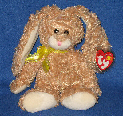 TY HARRISON the BUNNY BEANIE BABY - MINT with MINT TAG