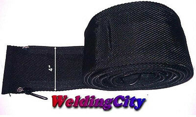 WeldingCity TIG Welding Torch Cable Cover 12-ft Long 4-in Wide Nylon w/ Zipper
