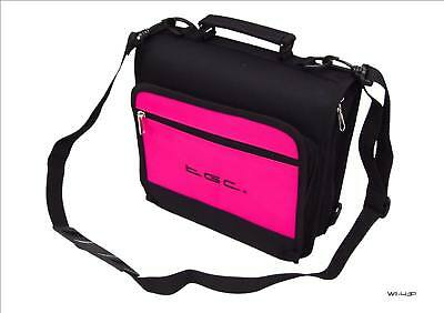 New Pink TGC Portable DVD Carry Case Bag + In Car Kit