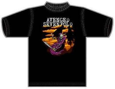 Avenged Sevenfold - T-Shirt Bat Medium Licensed New