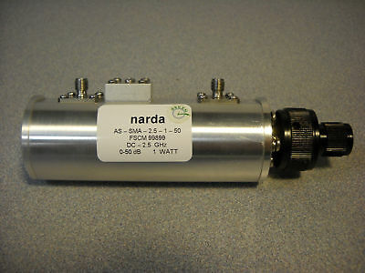 NARDA STEP ATTENUATOR MODEL: AS-SMA-2.5-1-50 No D.O.A!!