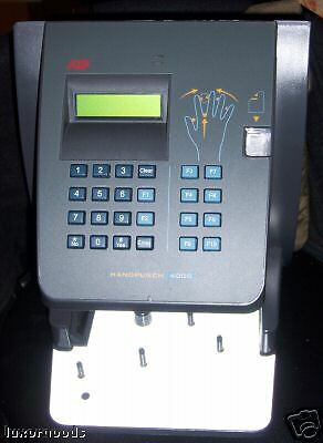 Time America HandPunch 4000 Biometric Clock W/ Ethernet