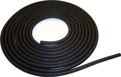 "1/4x1/16"" NATURAL LATEX RUBBER TUBING 10 FEET BLACK 1/4 ID 3/8 OD 1/16 WALL FT."